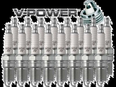 NGK V-Power Spark Plug Heat Range 5 (LZTR5A-13) .050