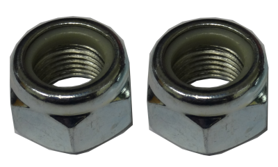 GTO 9166-HK Front Radius Arm Bushing Nut Hardware Kit (Per Pair)