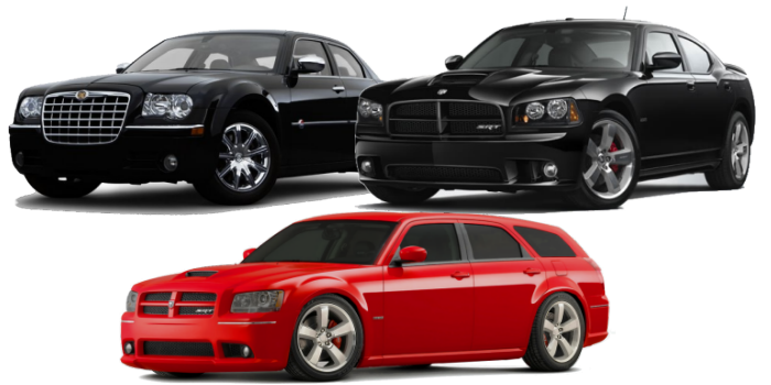 2005-2010 Charger / 300 / Magnum